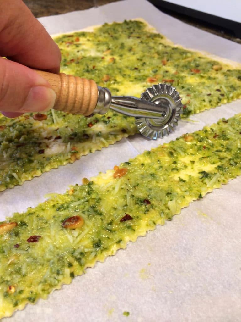 Pesto Pine Nut Cheese Sticks4