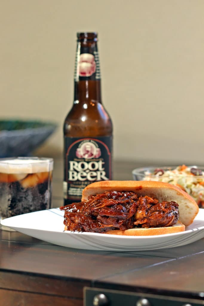Pulled Pork with Root Beer Glaze7