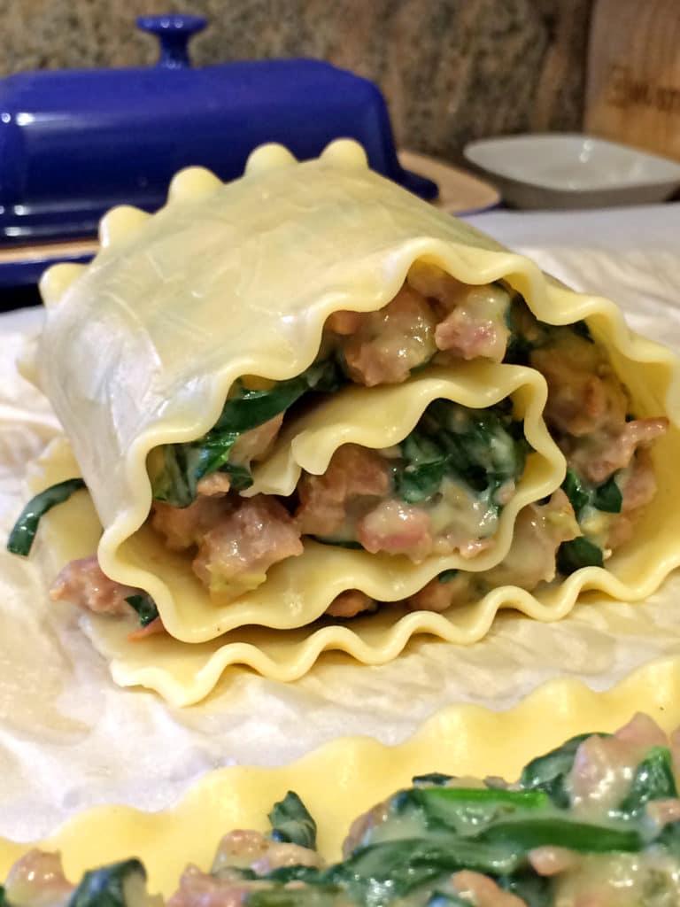 Stuffed Lasagna Roll-ups10