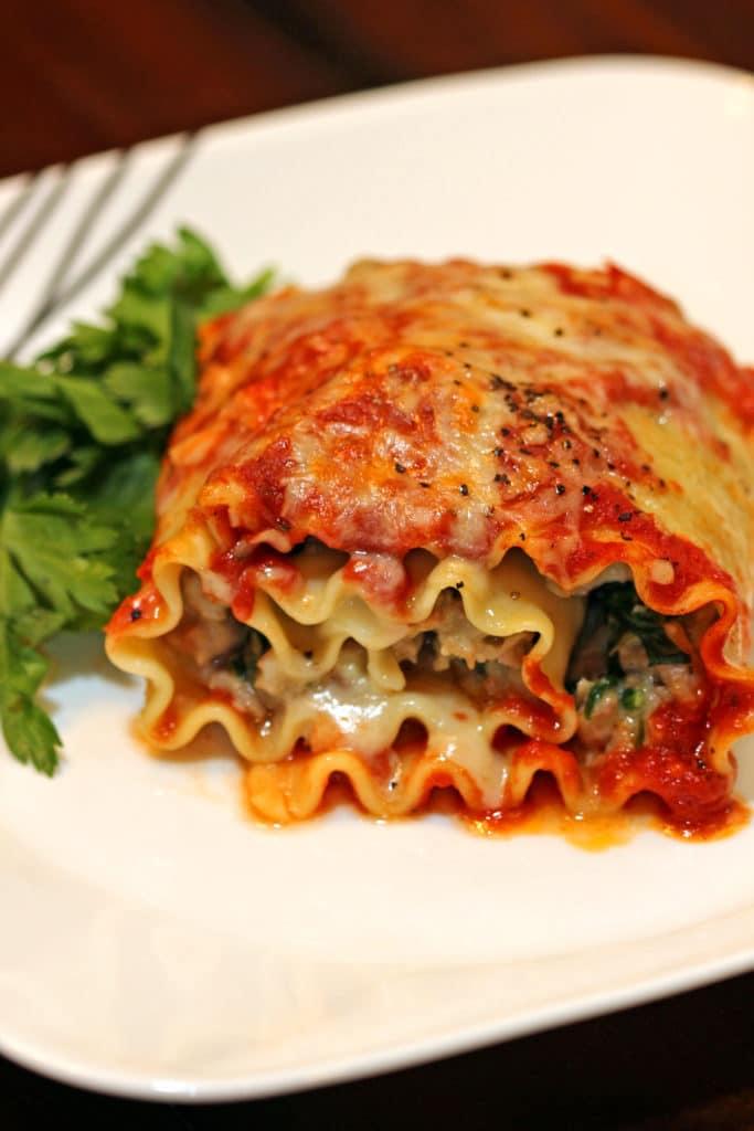 Stuffed Lasagna Roll-ups12