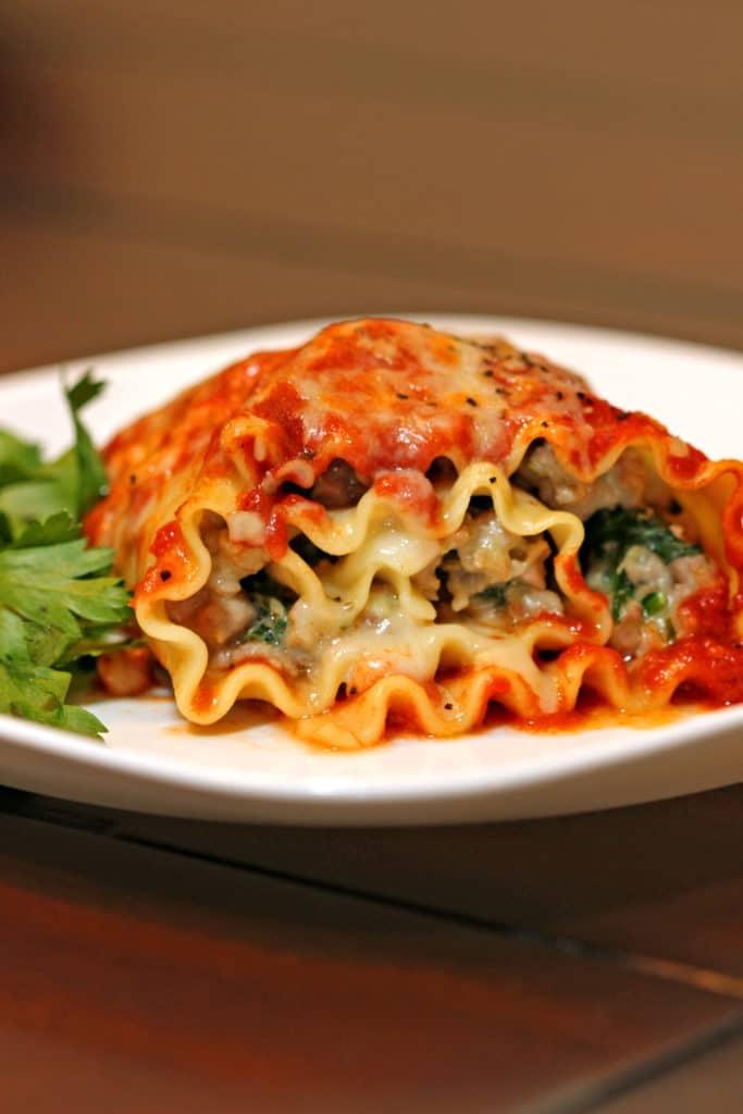 Stuffed Lasagna Roll-ups13