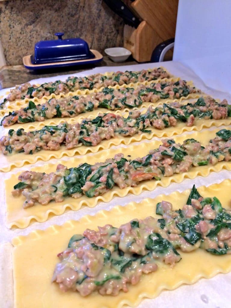 Stuffed Lasagna Roll-ups8