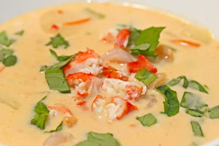 Crab Coconut Thai Soup1