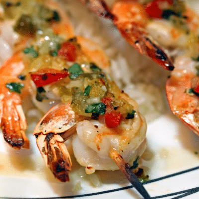 Manzanillo Broiled Shrimp