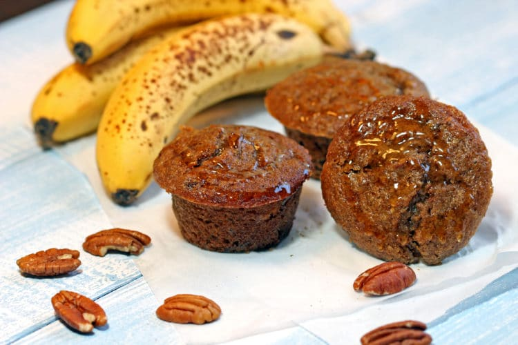Maple Banana Bran Muffins1