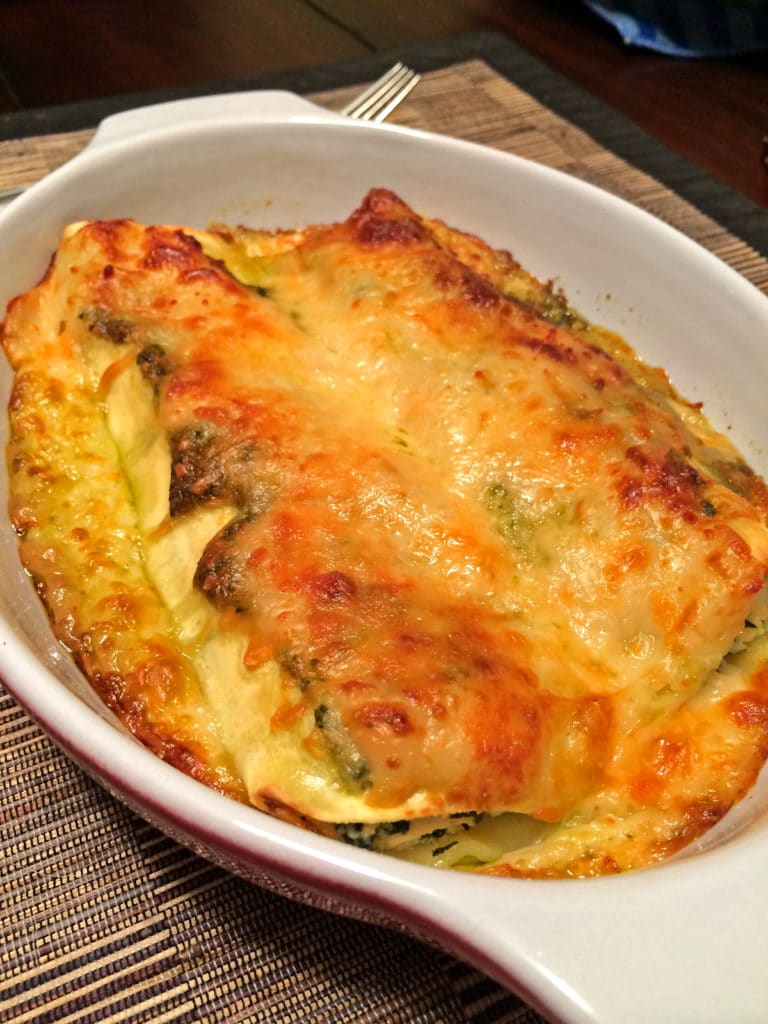 Spinach Pesto Lasagna1