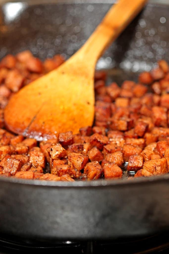 Sweet Potato, Ham and White Bean Soup2