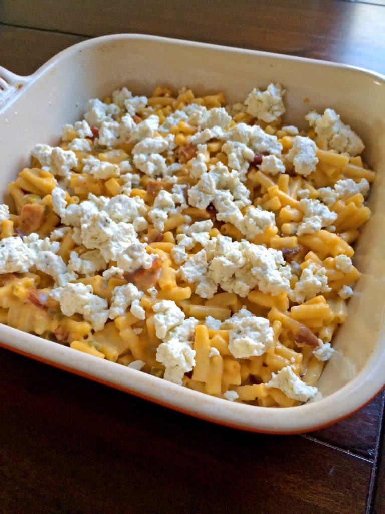 Cheesy Bacon Jalapeño Mac & Cheese Bake4