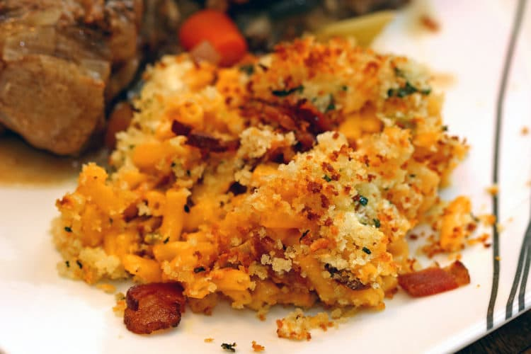 Cheesy Bacon Jalapeño Mac & Cheese Bake6