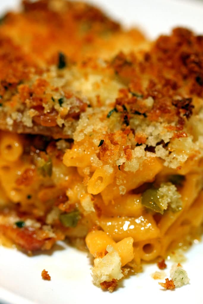 Cheesy Bacon Jalapeño Mac & Cheese Bake7
