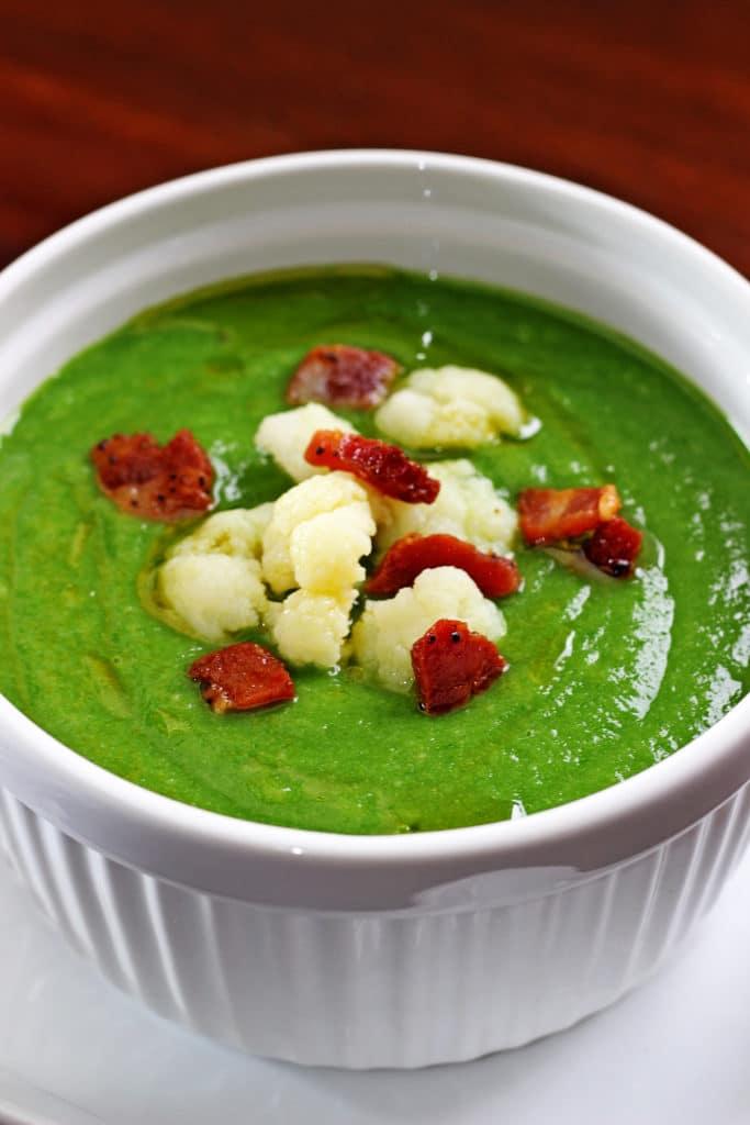 Creamy Spinach Soup6