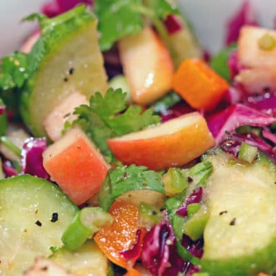 Cucumber Apple Salad