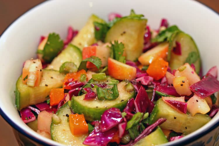 Cucumber Apple Salad4