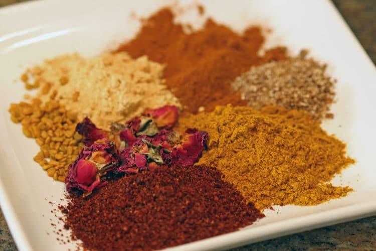Iraqi Yellow Spice-Rubbed Chicken2