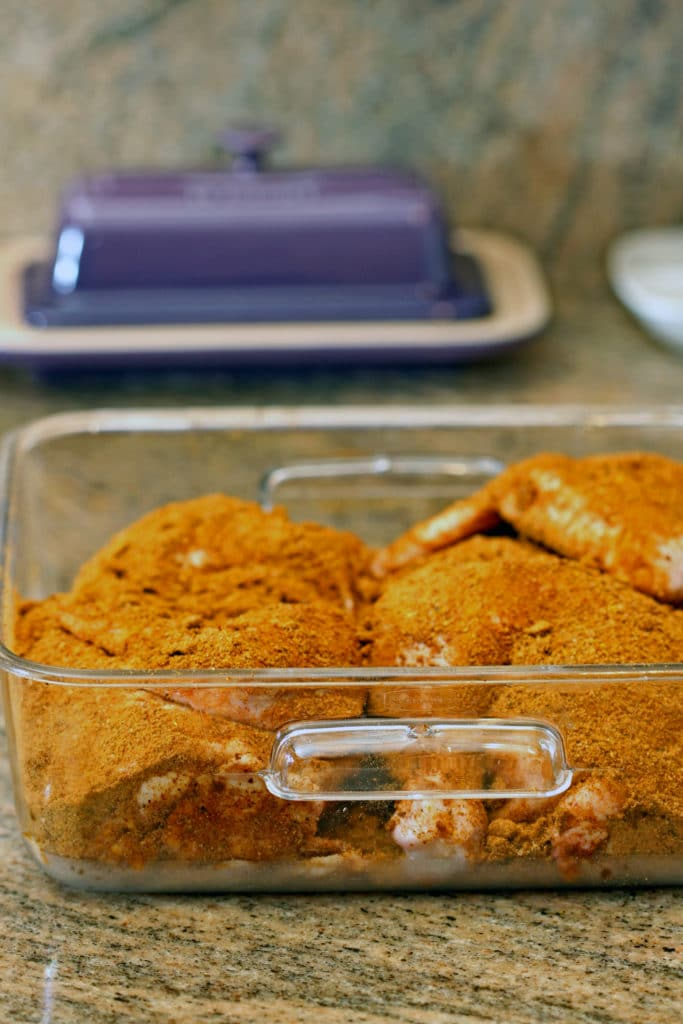 Iraqi Yellow Spice-Rubbed Chicken4