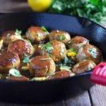 Chinese Lemon Chicken Meatballs