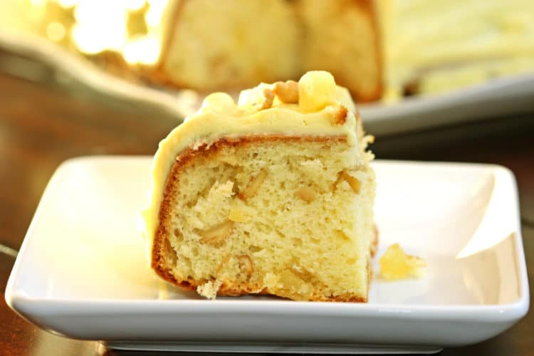 Pineapple Cashew Coffee Cake1