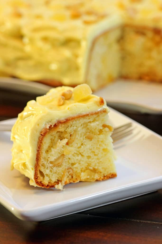Pineapple Cashew Coffee Cake6