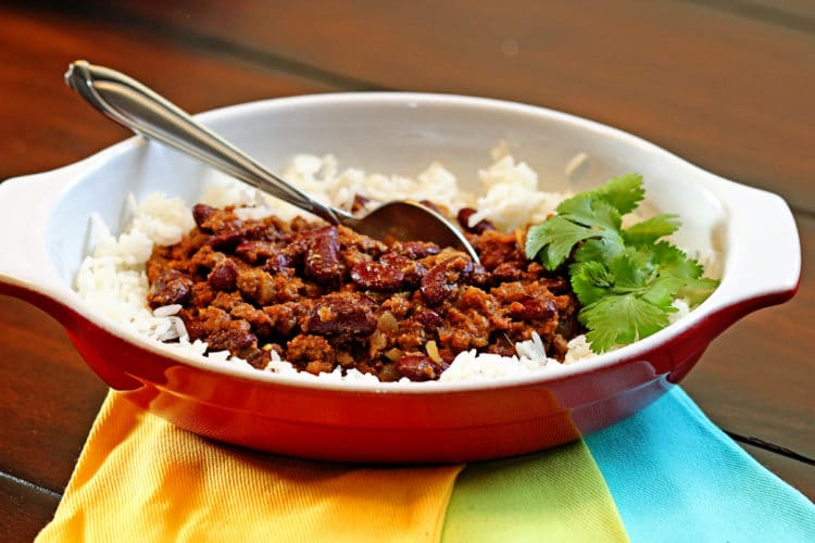 Red Kidney Bean Curry with Lamb (Rajmah Chawal) - keviniscooking.com