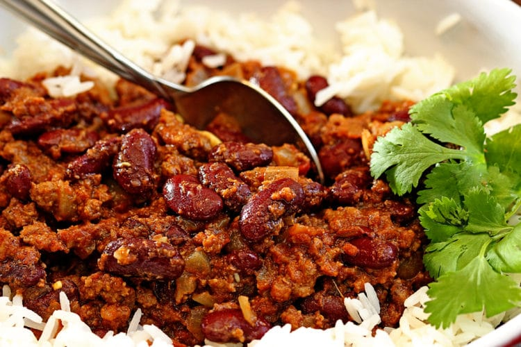 Red Kidney Bean Curry with Lamb2