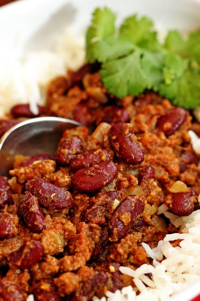 Red Kidney Bean Curry with Lamb5