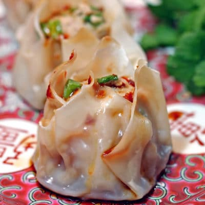 Shrimp and Pork Shu Mai