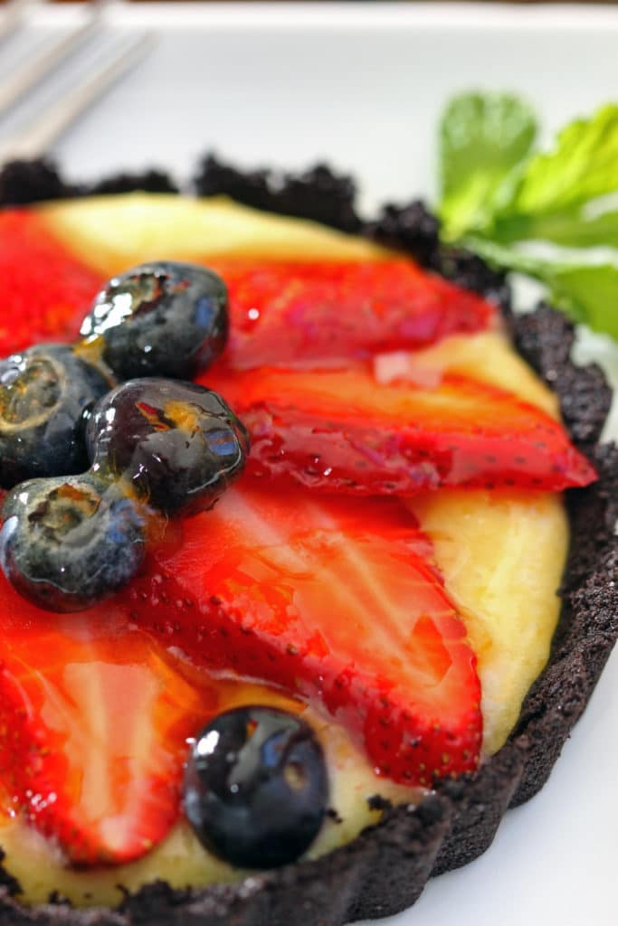 Strawberry Tarts with Chocolate Cookie Crust9
