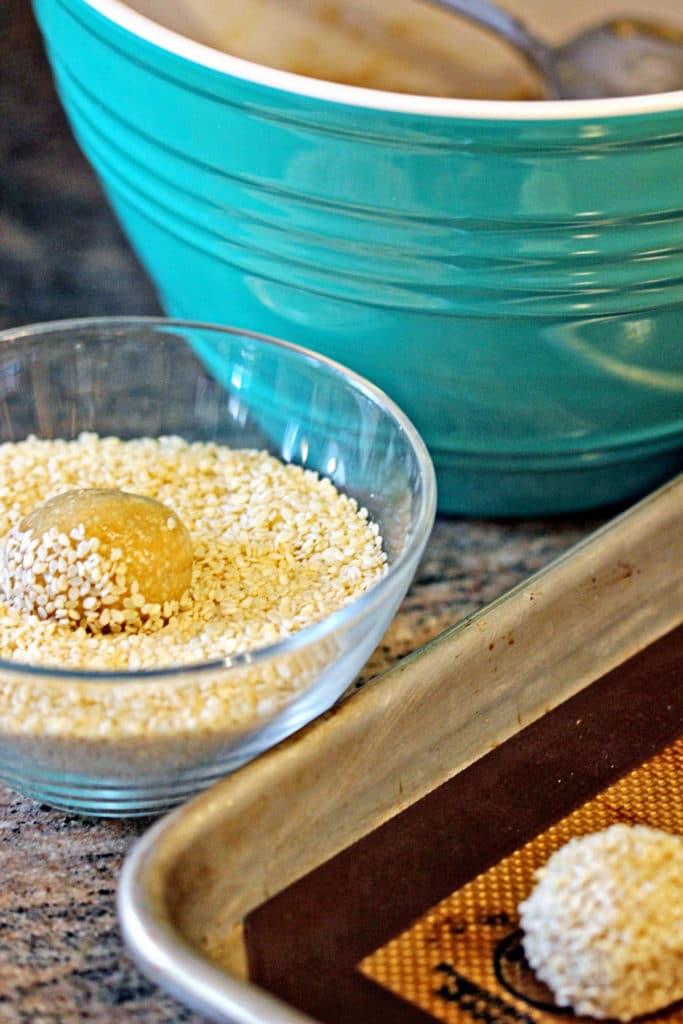 Almond Tahini Cookies with Cinnamon Icing3