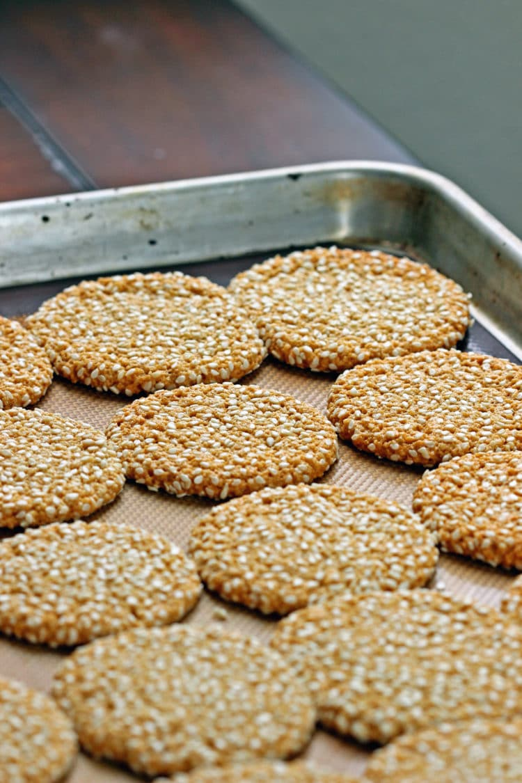 Tahini And Almond Cookies Recipes — Dishmaps