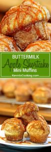 These Apple Shortcake Buttermilk Muffins are simple addictive. Soft, fluffy, sweet, buttery, delicious. The tang from the buttermilk offsets the sweet. keviniscooking.com