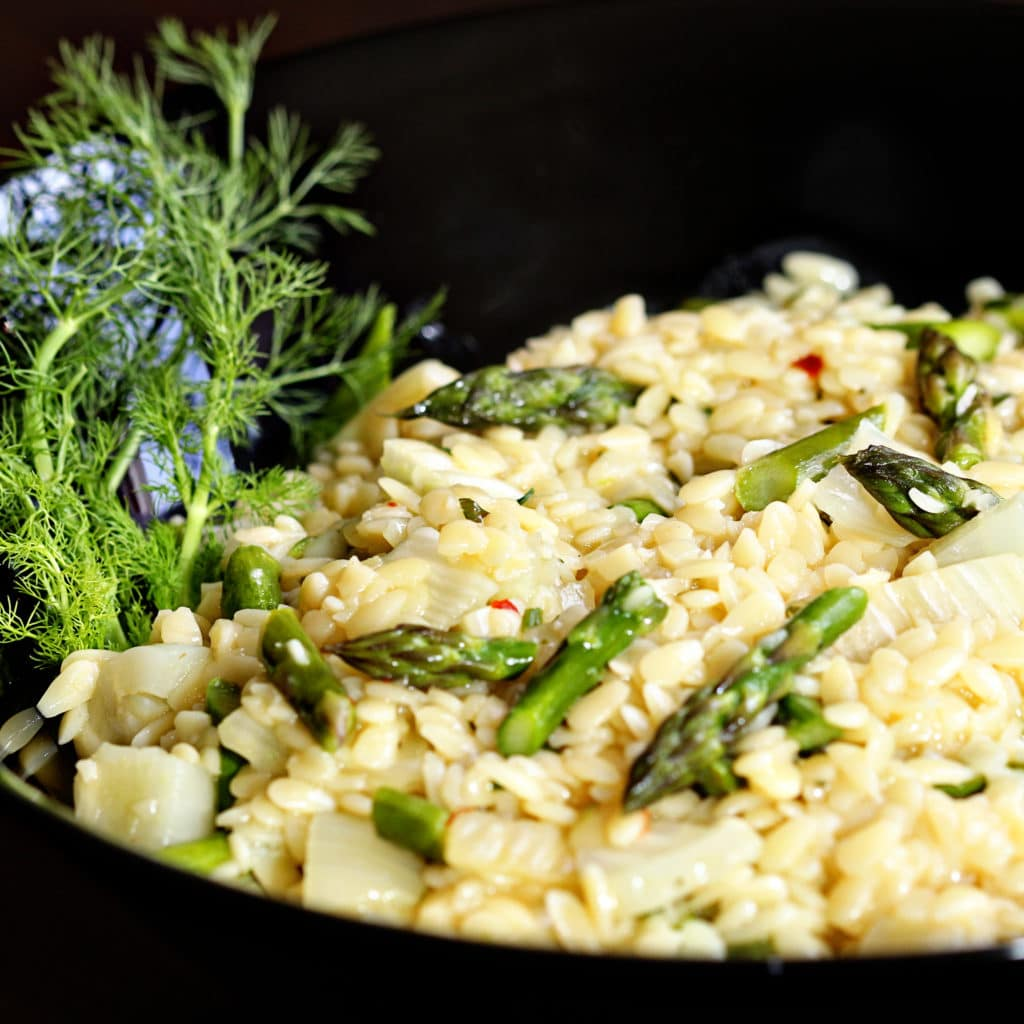 Asparagus and Fennel Orzo2