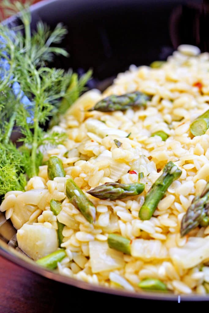 Asparagus and Fennel Orzo3