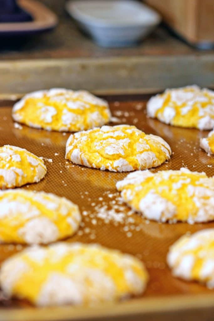 Chewy Lemon Burst Cookies7