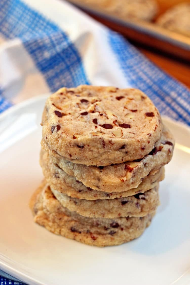 Chocolate Chip Pecan Sandies
