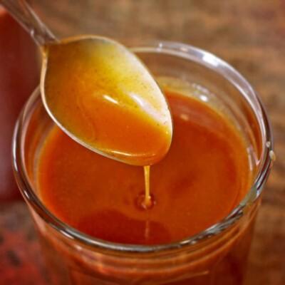 Cinnamon Salted Caramel Sauce