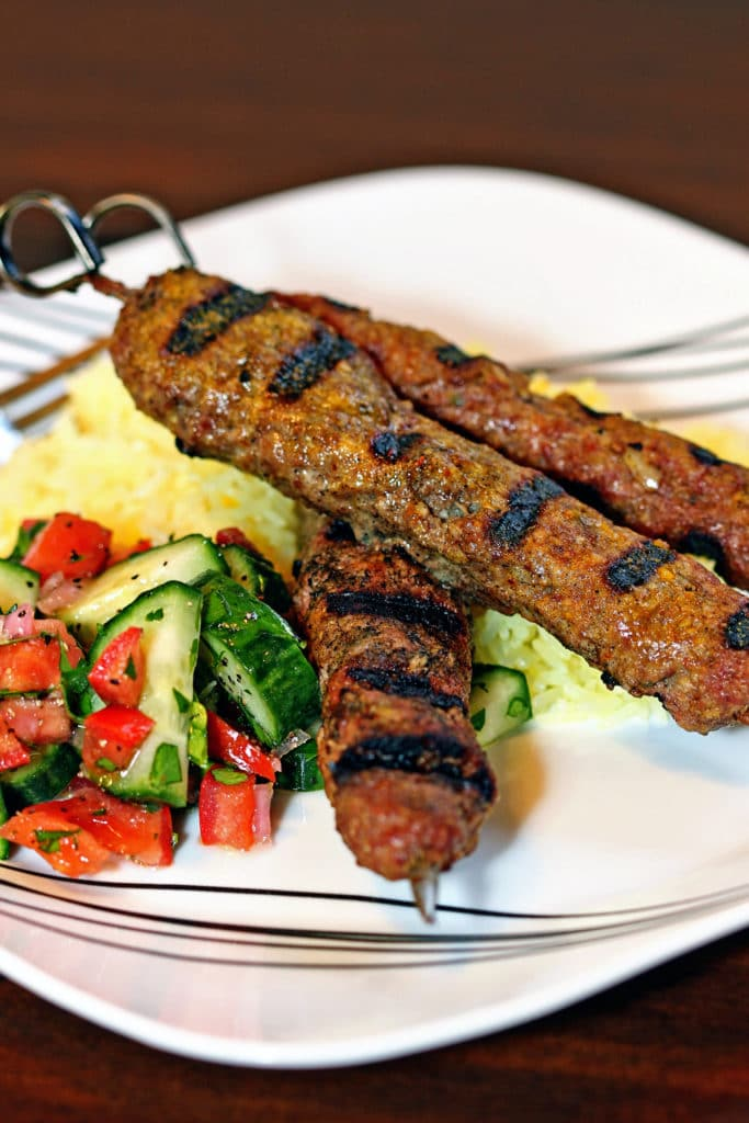 Grilled Lamb and Beef Kubideh Kebabs2