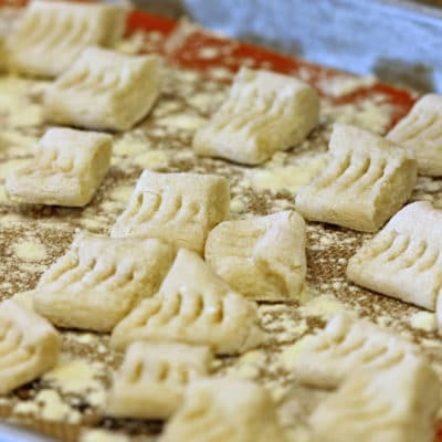 Handmade Gnocchi with Two Ingredients
