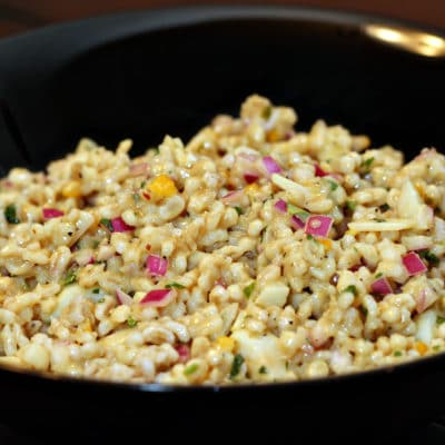 Savory Barley Salad with Preserved Lemon