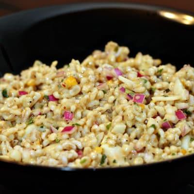 Savory Barley Salad with Preserved Lemon