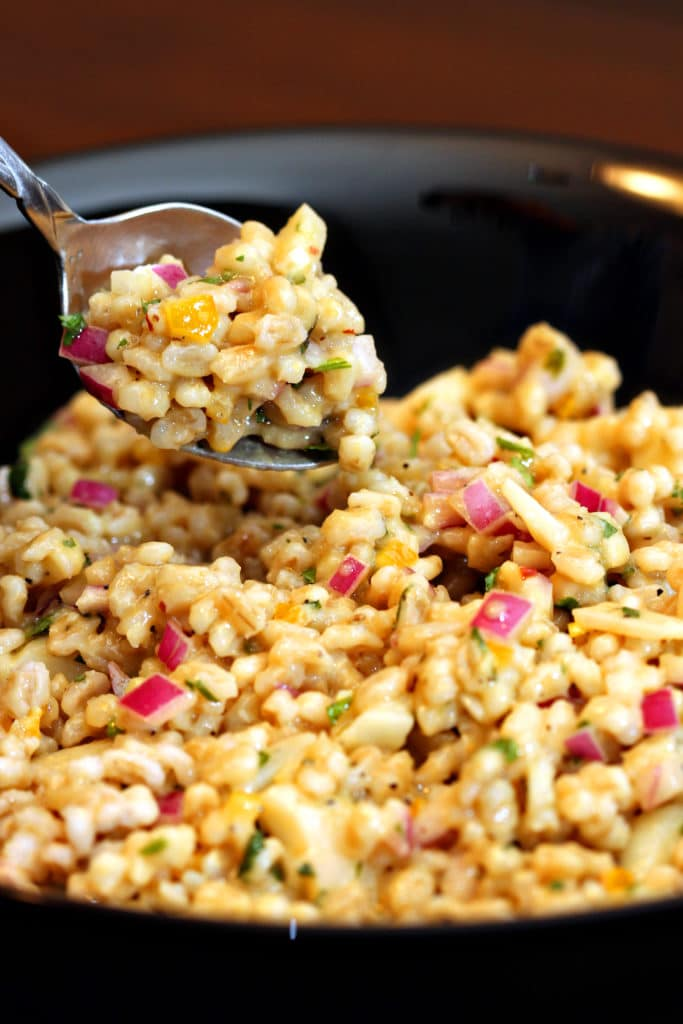 Savory Barley Salad with Preserved Lemon10