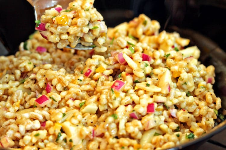 Savory Barley Salad with Preserved Lemon11