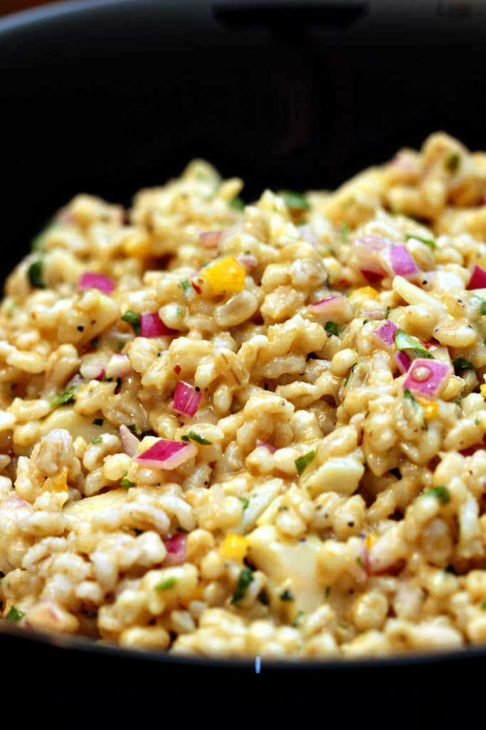Savory Barley Salad with Preserved Lemon9