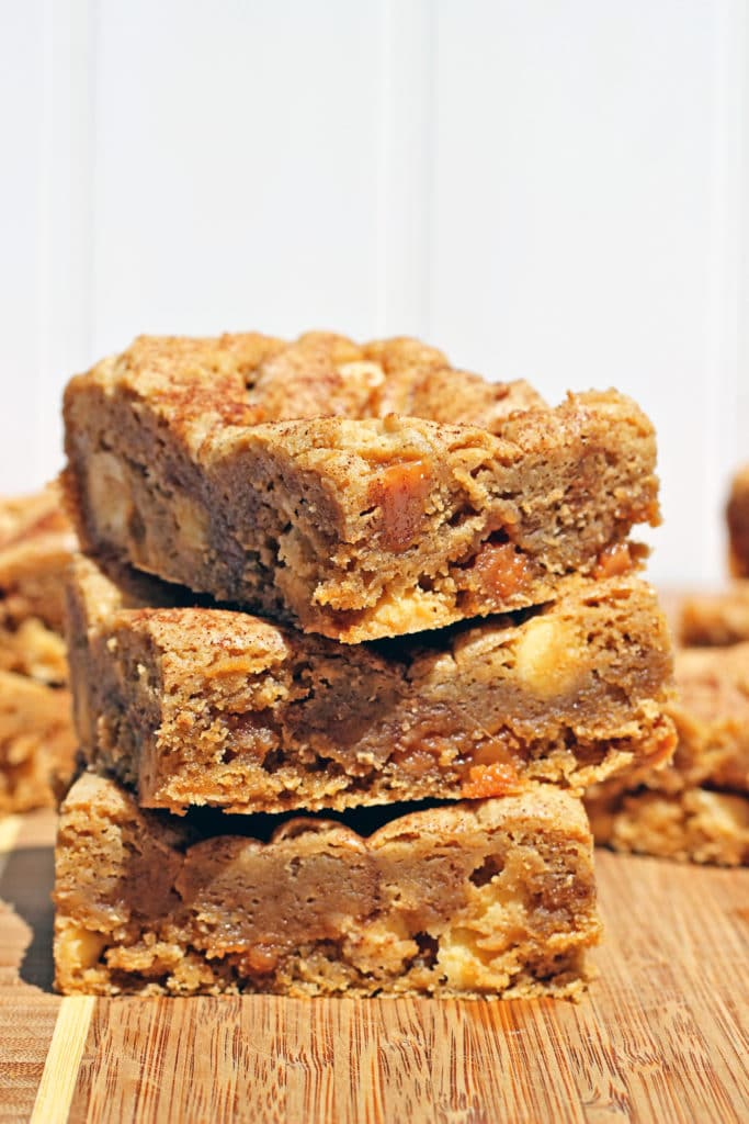 White Chocolate Caramel Blondies3