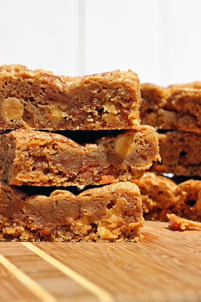 White Chocolate Caramel Blondies6