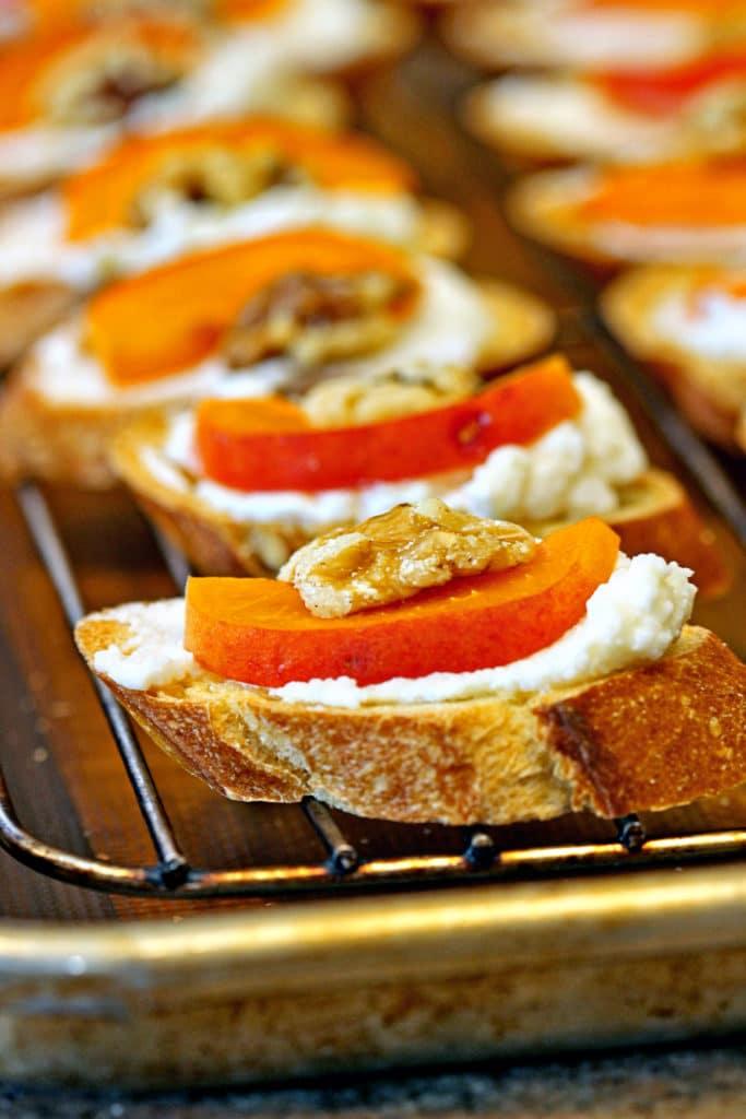 Apricot Ricotta Crostini4