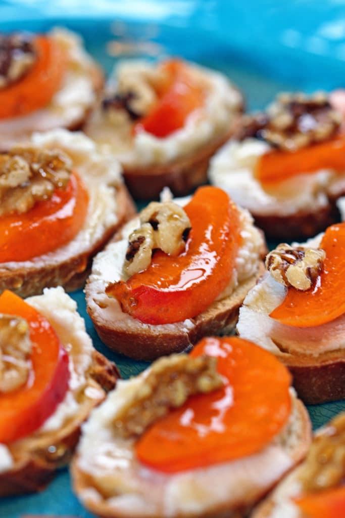 Apricot Ricotta Crostini7