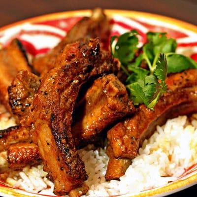 Cinnamon Coconut Curry Pork Ribs