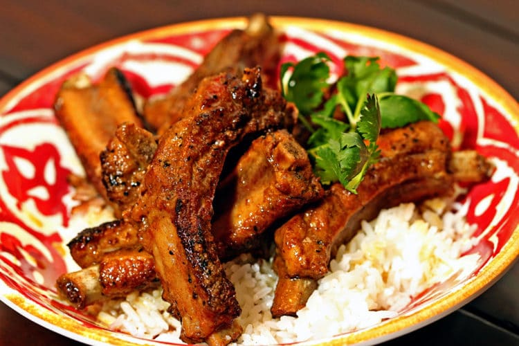 Cinnamon Coconut Curry Pork Ribs2