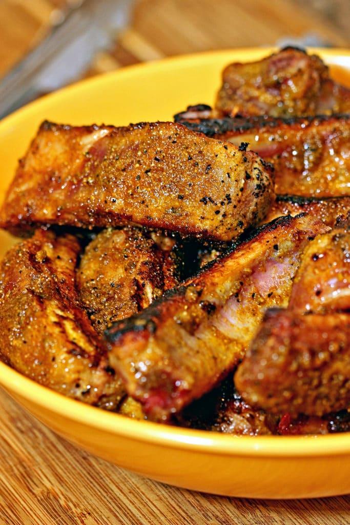 Cinnamon Coconut Curry Pork Ribs4