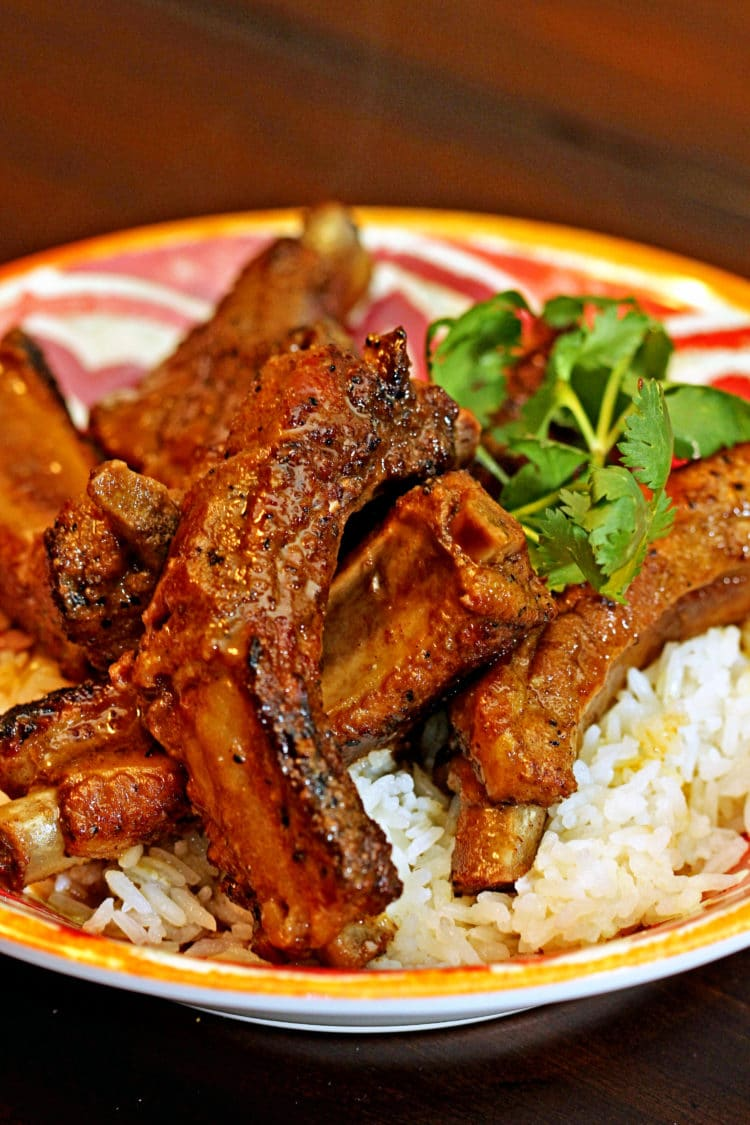 Pressure Cooker Indian Curry Lamb Spareribs Recipe — Dishmaps